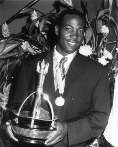 Trinity Cross recipient, Brian Lara